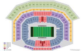 San Francisco Stadium Seating Chart San Francisco 49ers Home Schedule 2019 Seating Chart