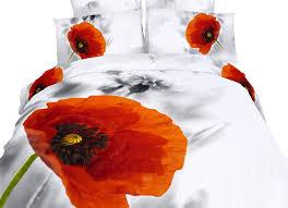 dolce mela fl bedding king size 6 piece duvet cover sets