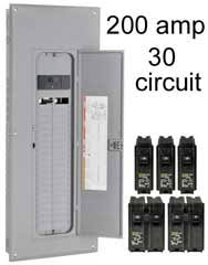 how to install a subpanel how to install main lug 200 Amp Breaker Box Diagram 120 240 volt with breakers 200 amp breaker box wiring diagram