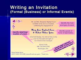 How To Write Letters Of Invitation - Lessons - Tes Teach