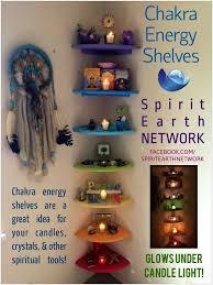 chakra shelves healing room reiki