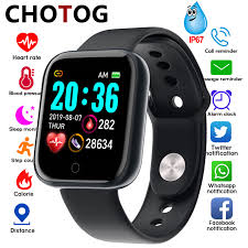 <b>Smart Watch Men Blood</b> Pressure Measurement Electronic Smart ...
