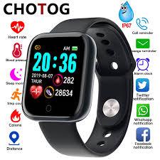 <b>Smart Watch Men Blood</b> Pressure Measurement Electronic Smart ...