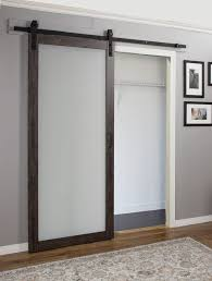 frosted glass barn doors. Erias Home Designs Continental MDF Eingineered Wood Panel Frosted Glass Barn Doors N