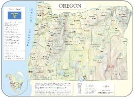 The Guest Blogger Map Of Oregon Cities
