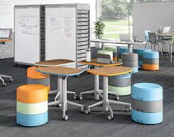Library seating furniture Comfortable As Static Seats Or With The Rocking Base To Encourage Movement And Can Be Adjusted To Fit Any Age Group As They Can Be Stacked To The Proper Height Pinterest Library Furniture That Wowed Us In 2017