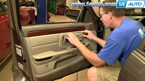 how to install replace front door panel cadillac deville 97 99 98 cadillac deville fuse box 98 Cadillac Deville Fuse Box how to install replace front door panel cadillac deville 97 99 1aauto com youtube
