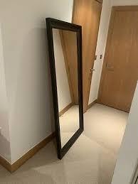black framed ikea hemnes mirror 45