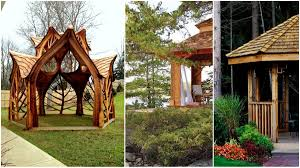 Designing Your Own Garden Online Free 27 Cool And Free Diy Gazebo Plans Design Ideas To Build