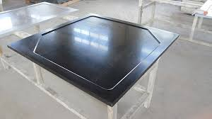 laboratory resin corner countertop marine edge non porous surface