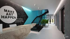 Advertising office interior design Top Archilovers Advertising Agency Office Grosu Art Studio