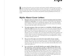 Great Resume Cover Letters Resume Cv Cover Letter