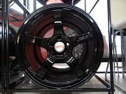 Rays Engineering Gram Lights 57cr 18x9 5 22 Square Fitment 5x114 3 Glossy Black