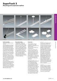 Track Lighting Clips Thorn Lighting Solutions By Sentor Electrical Issuu