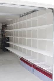 wall mounted garage shelving plans shelves side sliding garage doors