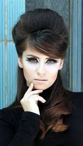 60s retro hair and makeup my eye makeup when my loving grandma told me i looked like a