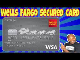 wells fargo secured credit card you