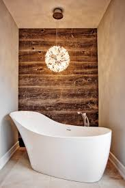 Small Picture Madison Taylor Design bathrooms plank wall planked wall bath