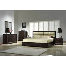 Modern Platform Bedroom Set Simple Customizable Masculine Bedroom Sets Modern King Bed Double