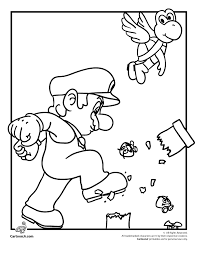 Small Picture httpwwwcartoonjrcommario coloring pagesmario bros coloring