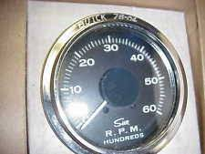 vintage sun tach nos new vintage sun tach tachometer 6000 rpm it 477 chevy ford dodge amc buick