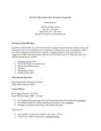 Job Description Of A Sales Associate For A Resume Resume Job Objectives For Retail Best Of Retail Sales Associate 20