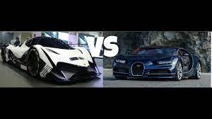 Devel sixteen vs bugatti veyron with hypersonic engine drag race 20 km. Bugatti Chiron Vs Devel Sixteen Prototype Page 3 Line 17qq Com