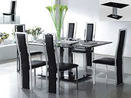 Contemporary Glass Dining Table Sets