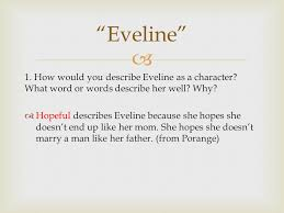 "james joyce ""araby"" and ""eveline"" ppt video online  22 ""eveline"" 1"