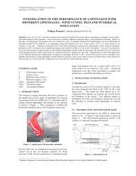 Wind Tunnel Balance Design Pdf Investigation Of The Performance Of A Spinnaker With
