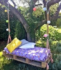pallet bed swings pallet swing bed diy pallet bed swing instructions