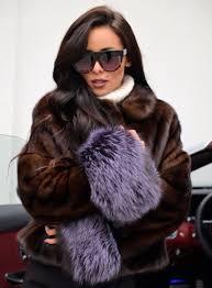 mink furs saga mink fur coat with beautiful fox sleeves