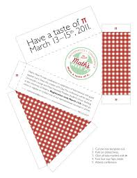 pi day invitation kit freelance graphic designer steveston village b c maths