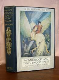 image of a wonder book and tanglewood tales