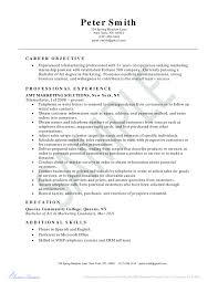 Telemarketing Resumes Telemarketing Resume Template Symde Co