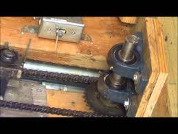 Garage Door diy garage door opener photos : redneck garage door opener works real well - YouTube