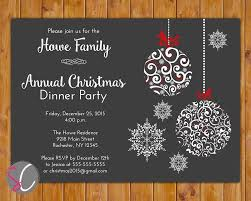 012 Free Christmas Party Invitations Templates Template