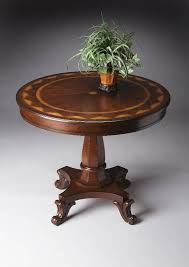 review round foyer table