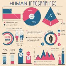 Infographic Chart Flat Infographics Chart For Business Royalty Free Stock
