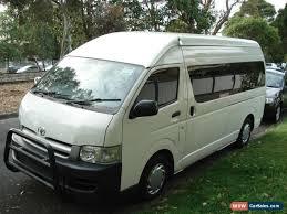 Toyota Toyota Hiace 2006 Commuter for Sale in Australia
