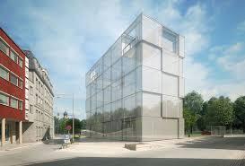 contemporary office building. Contemporary Office Building 3D Model E