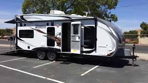 lance toy hauler 2212 trailer only 6600 sleeps 6 and hold 4 quads you