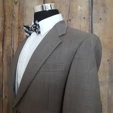 Tommy Hilfiger Sport Coat Mens 41r Wool Brown