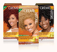 Creme Of Nature Permanent Hair Color Chart Hair Color Creme Of Nature