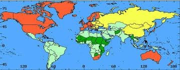 Реферат Политическая карта мира Современный этап международных  Очевидно что такие страны как например США и Швейцария отнесенные к категории экономически развитые страны или Кувейт и Папуа Новая Гвинея попавшие