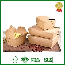 fsc custom print brown kraft paper box for food ng takeaway manufacturers customized s whole xiamen ebelee
