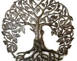 exterior wall art family roots tree of life large outdoor recycled metal haiti 33 current photograph on large external wall art with exterior wall art family roots tree of life large outdoor recycled