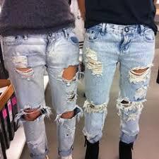 Image result for distressed jeans diy