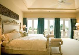 Mediterranean Bedroom Furniture Ornate Bedroom Furniture Curtains Wall Decor Pillows Lamps Bench Doors Ceiling Fan Bed Mediterranean Room