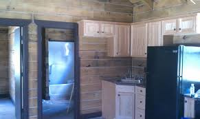 oak log cabins: schutt log homes hunting cabin kit